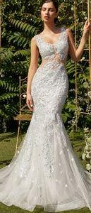 New formal evening bridal gown wedding dress